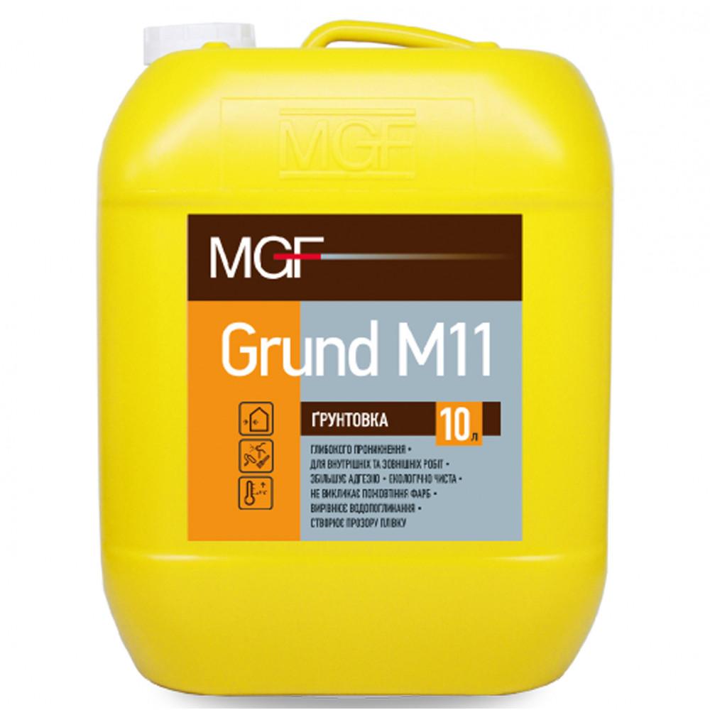 Глибокопроникаюча ґрунтівка MGF Grund M11, 10л