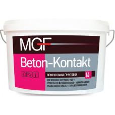 Адгезійна пігментована ґрунтовка MGF Beton-kontakt 14 кг