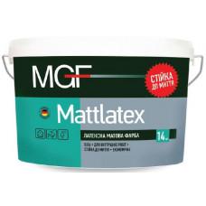 Латексна матова фарба MGF Mattlatex 14 кг