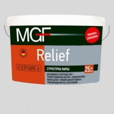 Структурна фарба MGF Relief 15 кг