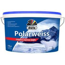 Супер біла акрилова фарба Dufa Polarweiss 14 кг
