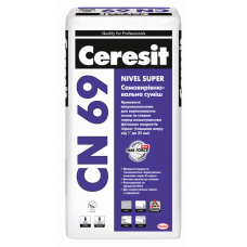 Самовирівнююча суміш Ceresit CN 69, мішок 25 кг