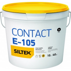 Ґрунтовка контактна Siltek Contact Е-105 ґрунт-фарба, відро 10л.