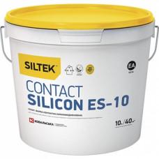 Ґрунтівка контактна силіконова Siltek Contact Silicon ЕS-10, каністра 10 л.