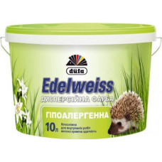 Гіпоалергенна дисперсійна фарба Dufa Edelweiss D60, 14 кг