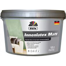 Професійна інтер'єрна матова фарба Dufa Innenlatex Matt 10 л