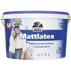 Латексна матова фарба Mattlatex D100 Dufa (Дюфа) 14 кг