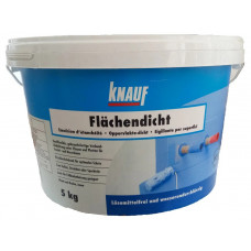 Гідроізоляційна мастика Knauf Flachendicht, відро 5 кг.