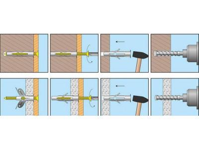 Чим і як здійснити кріплення в газобетонних блоках