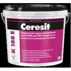 Клей для ПВХ -і каучукових покриттів Ceresit K 188E Extra, відро 12 кг