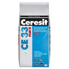 Cуміш для заповнення швів Ceresit CE 33 Plus Кольоровий шов (білий), 2 кг