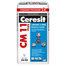 Клей для плитки Ceresit СМ 11 Plus, мішок 25 кг.