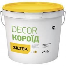 Штукатурка декоративна Siltek Decor короїд 2,0 мм, база DА (25 кг)