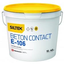 Ґрунтівка адгезійна Siltek Beton Contact E-106, 10 л