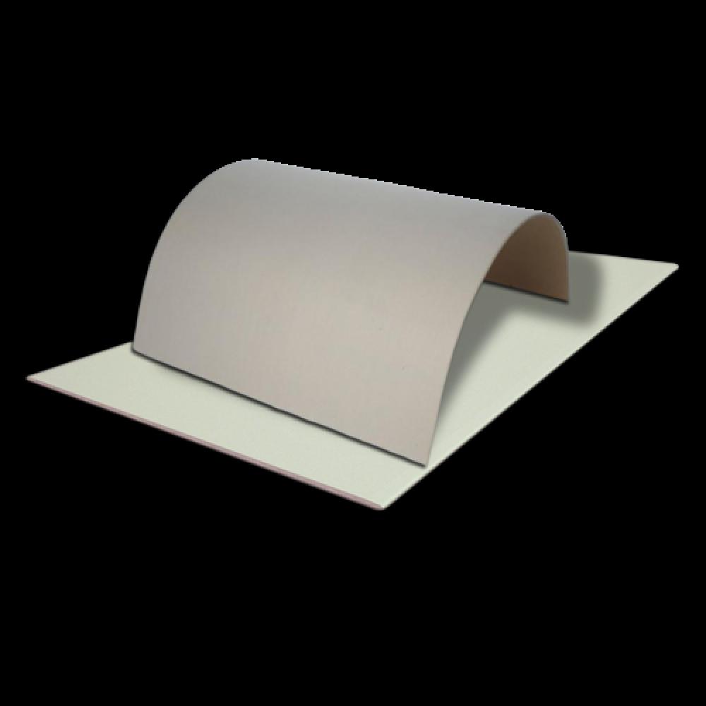 Гіпсокартонна плита Knauf арочна 6,5мм, 1,2*2,5м