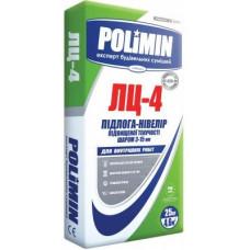 Самовирівнювальна підлога Polimin ЛЦ-4 25 кг