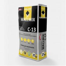 Штукатурка цементна для внутрішніх робіт Wallmix C-13, 25кг