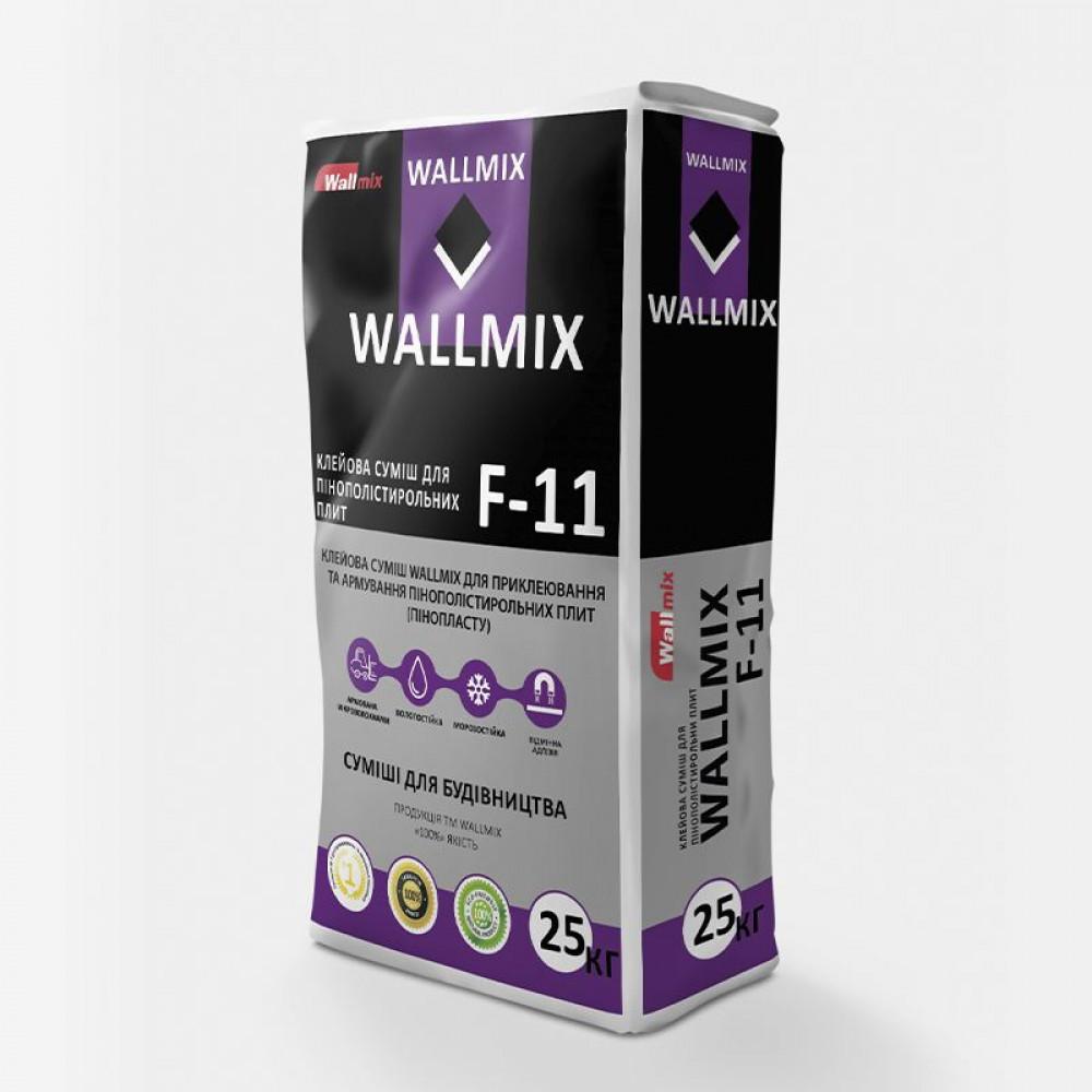 Клейова суміш для пінополістирольних плит Wallmix F-11, 25 кг