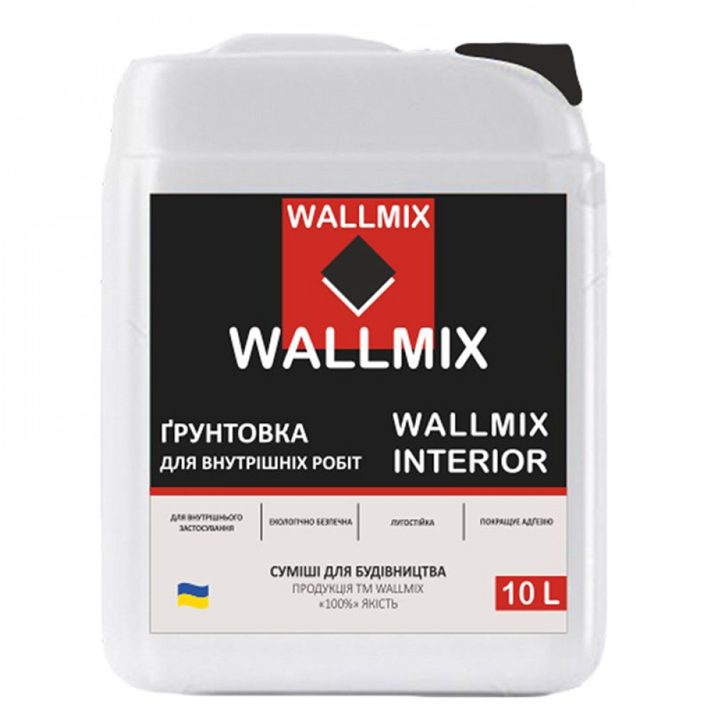 Грунтовка Wallmix Interior 10 L