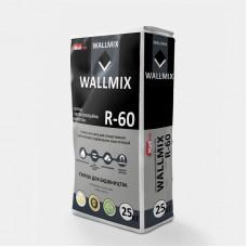 Суміш гідроізоляційна жорстка Wallmix R-60, 25 кг
