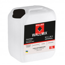Грунтовка Wallmix Interior 5 L