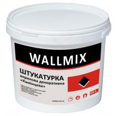Штукатурка акрилова декоративна «камінцева» Wallmix АК7, 25 кг